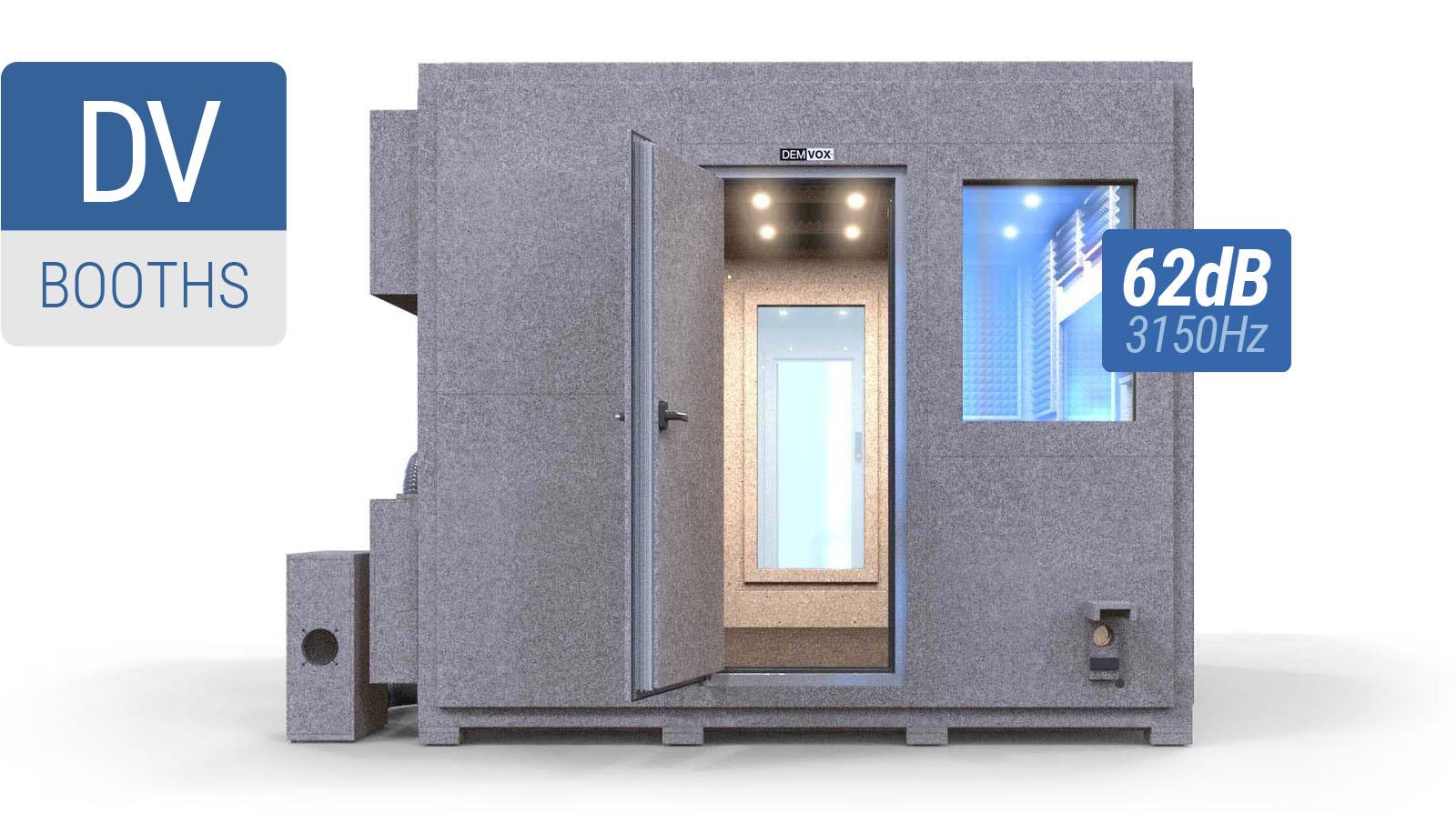 DEMVOX™ Sound Isolation Booths